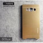เคส Samsung Galaxy A7 Metal Case (เคสอลูมิเนียม) จาก Motomo สีทอง