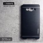 เคส Samsung Galaxy A7 Metal Case (เคสอลูมิเนียม) จาก Motomo สีดำ