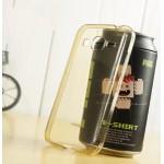 เคส Samsung Galaxy Core Prime / เคสยางนิ่ม TPU แบบใส พร้อมจุด Pixel ขนาดเล็กด้านในเคสป้องกันเคสติดกับตัวเครื่อง (สีทอง)