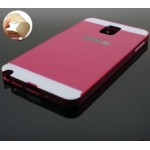 เคส Samsung Galaxy Note3 l ฝาหลัง + ขอบกันกระแทก Bumper สีชมพูเข้ม