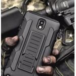 เคส Samsung Galaxy Note 3 : ALL BLACK DEFENDER เคส Hybrid Bumper ด้านในเป็นซิลิโคนป้องกันตัวเครื่องเป็นรอย พับเป็นขาตั้งได้ สีดำ