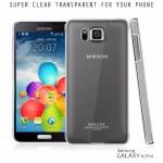 เคส Samsung Galaxy Alpha เคสใส Imak แบบพิเศษ (Air Case II ) แบบเพิ่มประสิทธิภาพลดรอยขีดข่วน