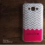 เคส Samsung Galaxy J7 เคสนิ่ม TPU พิมพ์ลาย แบบ B