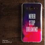 เคส Samsung Galaxy J7 เคสนิ่ม TPU พิมพ์ลาย แบบ E