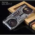 เคส Samsung Galaxy J7 เคสนิ่ม TPU Style เรโทร แบบ 2