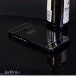 เคส Zenfone 5 l เคสฝาหลัง + Bumper ขอบกันกระแทก สีดำ