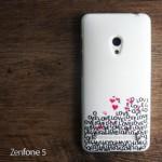 เคส Zenfone 5 เคสนิ่ม TPU Style เรโทร ลาย N
