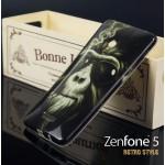 เคส Zenfone 5 เคสนิ่ม TPU Style เรโทร ลาย F