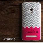 เคส Zenfone 5 เคสนิ่ม TPU Style เรโทร ลาย J