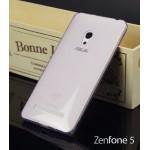 เคส ASUS Zenfone 5 | เคสนิ่ม Super Slim TPU บางพิเศษ พร้อมจุด Pixel ขนาดเล็กด้านในเคสป้องกันเคสติดกับตัวเครื่อง (ม่วงใส)
