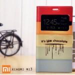เคส Xiaomi MI3 ฝาพับพิมพ์ลาย เปิด-ปิด อัตโนมัติ ลายที่ 2