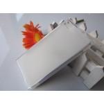 เคส Xiaomi MI 3 l เคสยาง TPU สีเรียบ ขาว