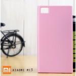 เคส Xiaomi Mi3 l เคส JELLY ผิวมันวาวสีสันสดใส สีชมพู
