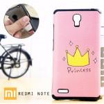 เคส Xiaomi Redmi Note เคสนิ่มพื้นผิวป้องกันการลื่น (Premium TPU) แบบ D