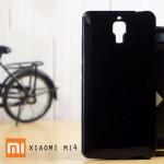 เคส Xiaomi MI4 l เคส JELLY ผิวมันวาวสีสันสดใส สีดำ