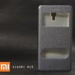 เคส Xiaomi Mi4 (M4)   เคสฝาพับ ช่องรูดรับสาย ของแท้จาก Mofi สีเทา