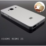 เคส Xiaomi Redmi 2s l ฝาหลัง + ขอบกันกระแทก Bumper สีเงิน