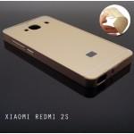 เคส Xiaomi Redmi 2s l ฝาหลัง + ขอบกันกระแทก Bumper สีทอง
