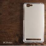 เคส Vivo X5 Max เคสซิลิโคน TPU สีเรียบ (ใส)