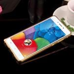 เคส Vivo X5 Pro ขอบกันกระแทก Bumper (สีทอง / ขลิบทอง)