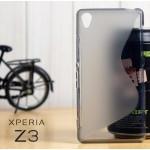 เคส Sony Xperia Z3 l เคสยาง TPU Two-Tone สีดำใส