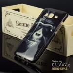 เคส Samsung Galaxy J5 เคสนิ่ม TPU Style เรโทร ลาย C