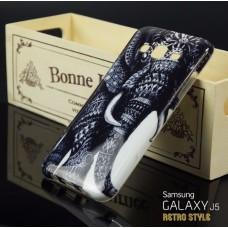 เคส Samsung Galaxy J5 เคสนิ่ม TPU Style เรโทร ลาย F