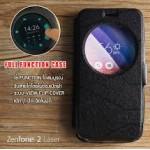 เคส Zenfone 2 Laser (5 นิ้ว) เคสฝาพับ แบบพิเศษ FULL FUNCTION ช่องกว้างพิเศษ รองรับการทำงานได้สมบูรณ์แบบ สีดำ
