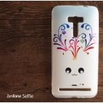เคส Zenfone Selfie (ZD551KL) เคสนิ่ม TPU พิมพ์ลาย ลาย C