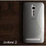 เคส Zenfone 2 (ZE551ML / ZE550ML) | เคสนิ่ม ซิลิโคน คุณภาพดี แบบทูโทน สีดำ / ใส