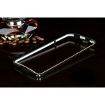 เคส Asus Zenfone 2 (ZE551ML / ZE550ML) Bumper ขอบกันกระแทก บั๊มเปอร์ (สีดำ / ขลิบทอง)