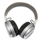 หูฟัง Metal Sport Beat รุ่น BT008 - หนังน้ำตาลอ่อน-เทา
