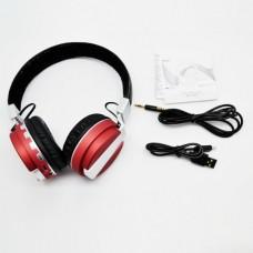 หูฟัง Metal Sport Beat รุ่น BT008 - หนังดำ-แดง