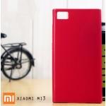 เคส Xiaomi Mi3 l เคส JELLY ผิวมันวาวสีสันสดใส สีชมพูเข้ม