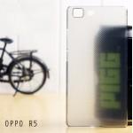 เคส Oppo R5 l เคสแข็งสีเรียบความยืดหยุ่นสูง ดำใส