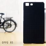 เคส Oppo R5 l เคสแข็งสีเรียบความยืดหยุ่นสูง ดำ
