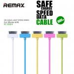 สายชาร์จ REMAX Safe and Speed iPhone 4/4S - สีขาว