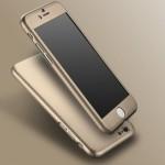 เคส iPaky 360 Degree พร้อมกระจกนิรภัยสำหรับ iphone 6  ( Gold )