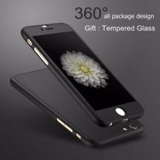 เคส iPaky 360 Degree พร้อมกระจกนิรภัยสำหรับ iphone 6s ( Black )