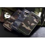 เคส Samsung Galaxy J7 ลายทหาร สีเขียว