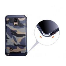 เคส Samsung Galaxy Note 4 ลายทหาร สีน้ำเงิน