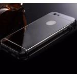 เคส iPhone 6 Plus l เคสฝาหลัง + Bumper (แบบเงา) ขอบกันกระแทก สีสเปซเกรย์