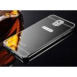 เคส Samsung Galaxy Note 3 l เคสฝาหลัง + Bumper (แบบเงา) ขอบกันกระแทก สีสเปซเกรย์