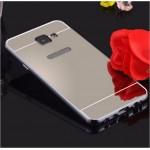 เคส Samsung Galaxy A5 2016 l เคสฝาหลัง + Bumper (แบบเงา) ขอบกันกระแทก สีสเปซเกรย์