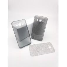 เคส Samsung Galaxy J5 เคสนิ่ม Slim TPU พร้อมจุด Pixel ขนาดเล็กด้านในเคสป้องกันเคสติดกับตัวเครื่อง (แถมแผ่นกากเพชร) สีดำใส