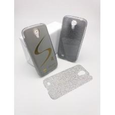 เคส Samsung Galaxy S4 เคสนิ่ม Slim TPU พร้อมจุด Pixel ขนาดเล็กด้านในเคสป้องกันเคสติดกับตัวเครื่อง (แถมแผ่นกากเพชร) สีดำใส