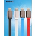 สายชาร์จ iPhone 5/5S REMAX Safe & Speed Data Cable สีฟ้า