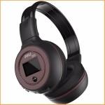 หูฟัง บลูทูธ Zealot B570 Bluetooth Headphone สีดำ-น้ำตาล