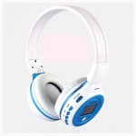 หูฟัง บลูทูธ Zealot B570 Bluetooth Headphone สีขาว-ฟ้า