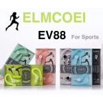 หูฟัง สมอลล์ทอล์ค ELMCOEI EV88 For Sports สีเขียว